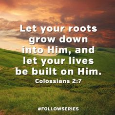 roots in him
