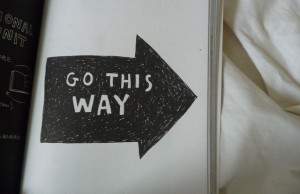 go this way