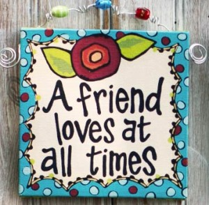 a friend loves