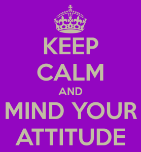 mind the attitude