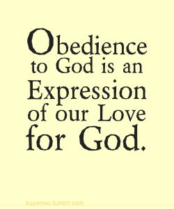 ObedienceLove