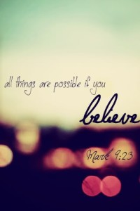 if believe
