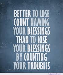 count blessings
