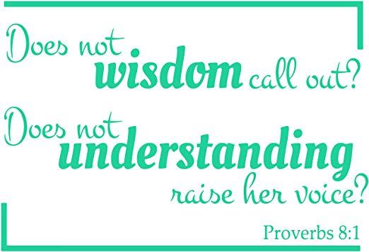 Proverbs 8:1