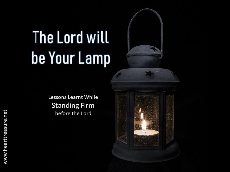 The Lord's lamp